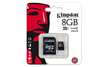Carte micro SD 8GB